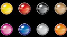 Esferas coloridas