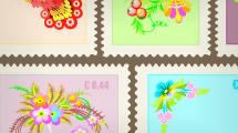 Estampillas postales