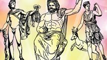 Estatuas de dioses griegos