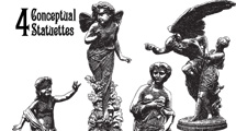 Estatuas vintage