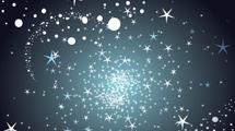 Estrellas en fondo oscuro