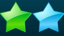 Estrellas Metalizadas