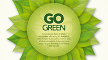 Etiqueta Go Green