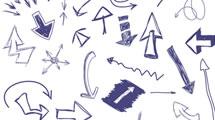 Flechas dibujadas con boligrafo