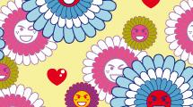 Flores con Smileys