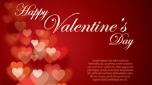 Flyer de San Valentín