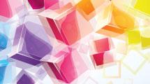Fondo abstracto con cubos