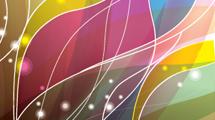 Fondo abstracto con líneas y colores