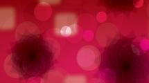 Fondo abstracto: Destellos negros sobre rojo