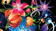 Fondo Abstracto Floral