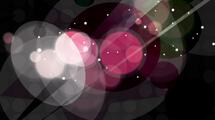 Fondo abstracto: Negro con destellos rosados