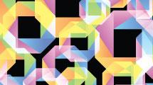Fondo abstracto origami