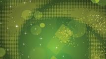 Fondo abstracto: Puntos verdes