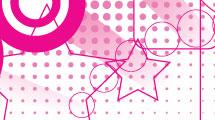 Fondo abstracto rosa