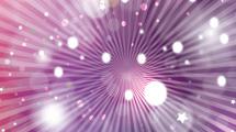 Fondo abstracto violeta con líneas y destellos blancos