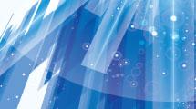 Fondo azul abstracto