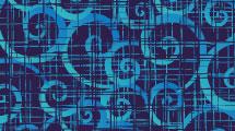 Fondo azul con transparencias