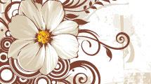Fondo con flor