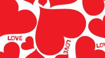 Fondo corazones love