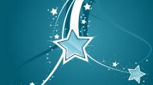Fondo de Swirls y Estrellas