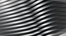 Fondo metal con curvas