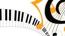 Fondo música de piano