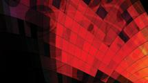 Fondo negro con cuadros rojos