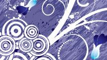 Fondo primavera violeta