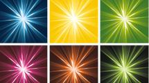Fondo radiales en colores