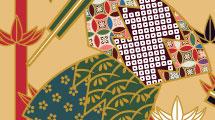 Fondo tradicional japonés