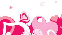 Fondo valentines