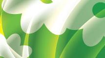 Fondo verde con transparencias