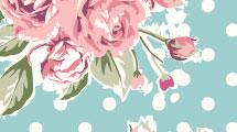 Fondo vintage con rosas