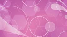 Fondo violeta con círculos transparentes