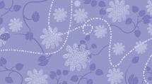 Fondo violeta floreado