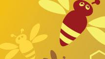 Fondos con abejas
