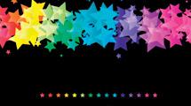 Fondos con estrellas de colores