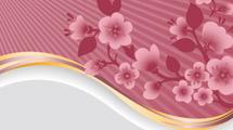 Fondos con flores rosadas