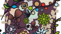 Fondos florales y flores sueltas
