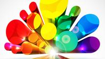 Formas 3D de colores