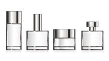Frascos vacíos de perfume