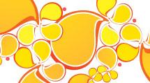 Gotas anaranjadas