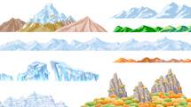 Grupos de montañas