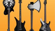Guitarras eléctricas: varios modelos