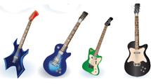 Guitarras variadas