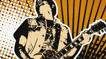 Guitarrista grunge