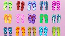Hawaianas en varios modelos de diferentes colores