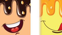 Helados en caricaturas