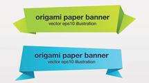 Hojas de papel origami coloridas