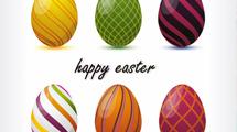 Seis modelos de Huevos de Pascua